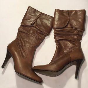 ALDO Vintage Leather Boots Sz 38